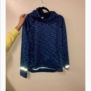 Blue runners hoodie